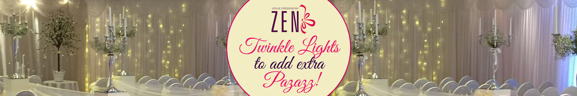 Twinkle Light Backdrops to add Extra Pazazz!