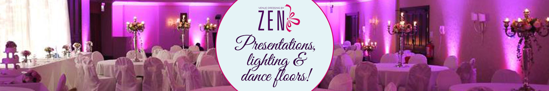 Presentations, lighting & dance floors!